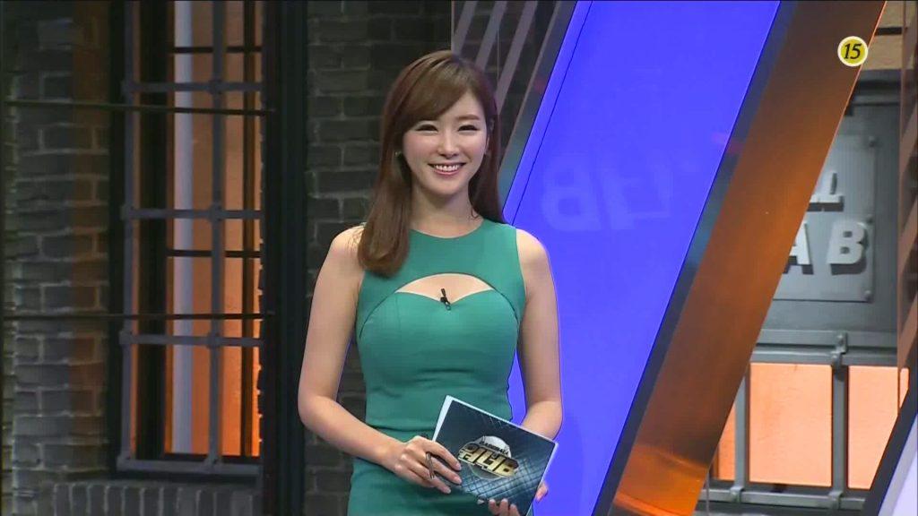 コン・ソヨン(アナウンサー)のインスタ画像。韓国のセクシー系アナ