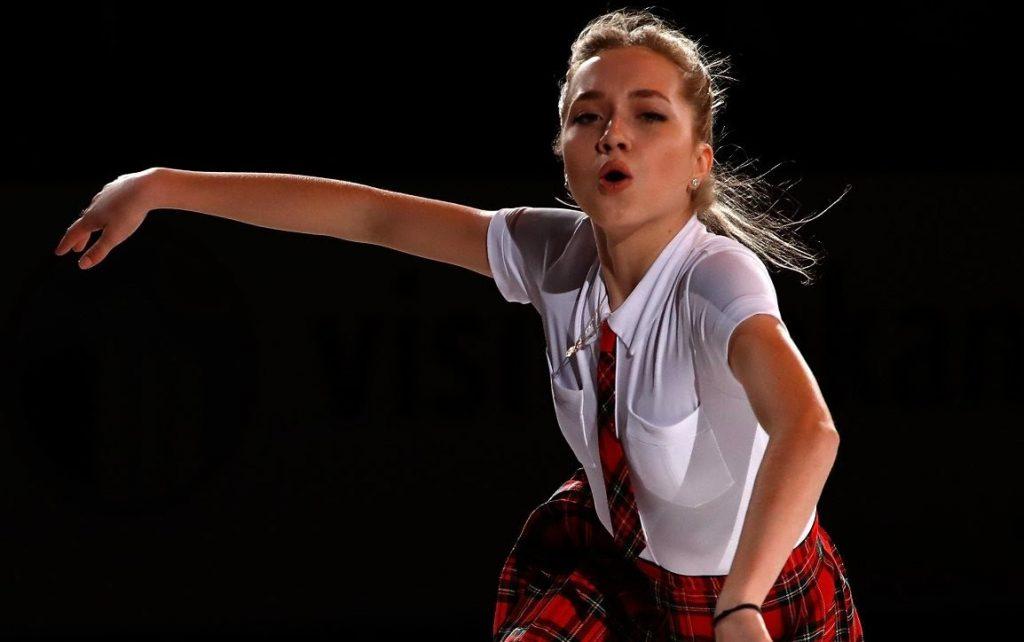 エレーナ・ラジオノワのインスタ画像。ロシアのかわいいフィギュアスケート選手