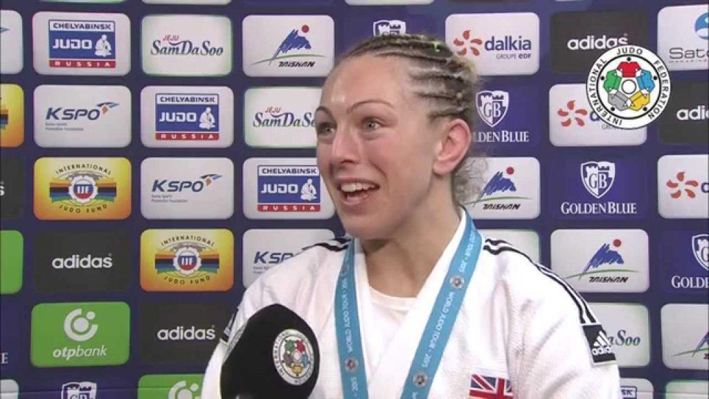 サリー・コンウェイの画像。イギリスの柔道家。五輪メダリスト