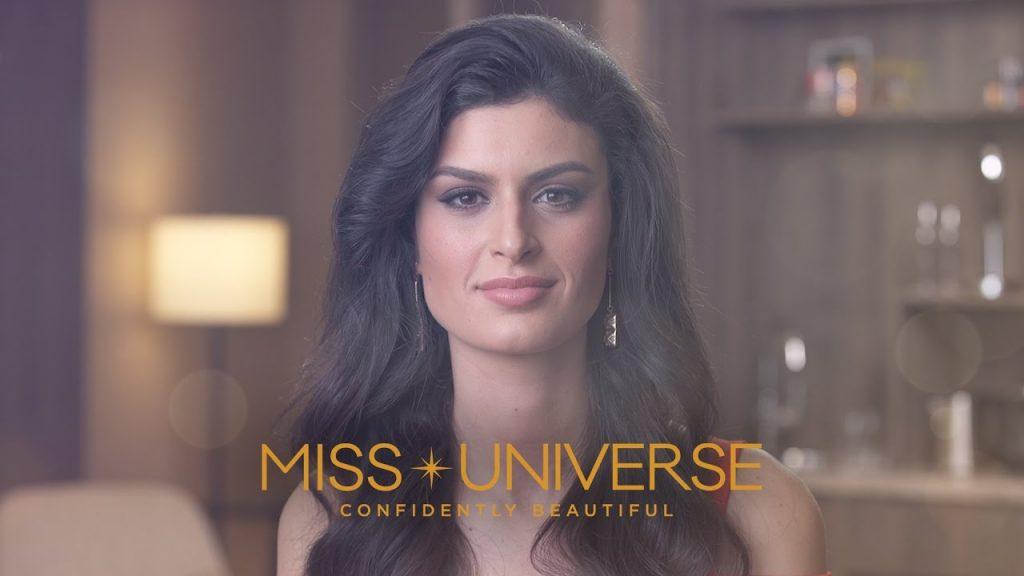 ソフィア・セルジオのインスタ画像。ミス・ユニバースイタリア代表モデル