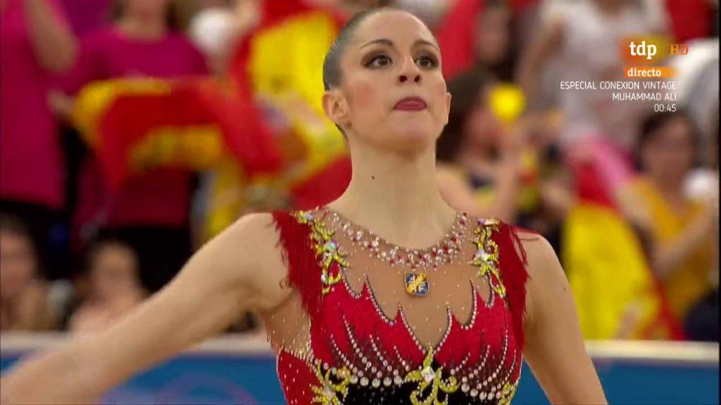 カロリーナ・ロドリゲスのインスタ画像。スペインの美人新体操選手