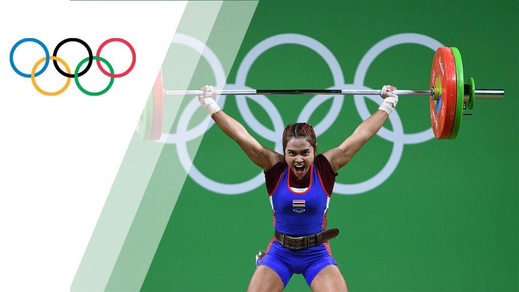 ソピタ・タナサンのインスタ画像。重量挙げ金メダリストの美人選手