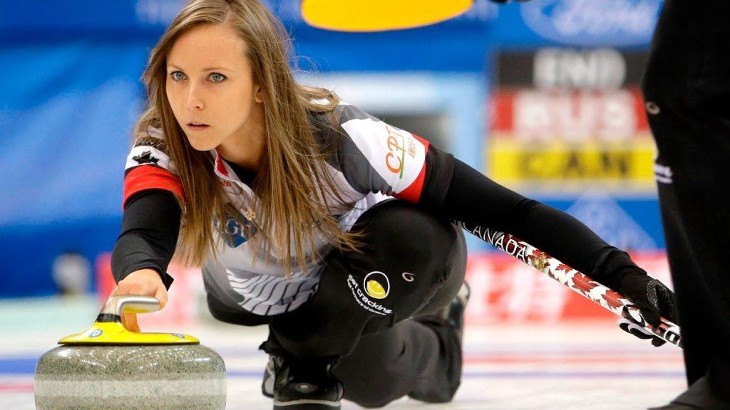 レイチェル・ホーマンのインスタ画像。カナダの美人カーリング選手