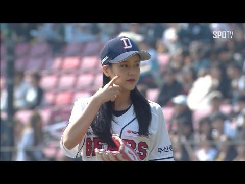 ソリョン(AOA)のインスタ画像がかわいい。韓国で始球式も!
