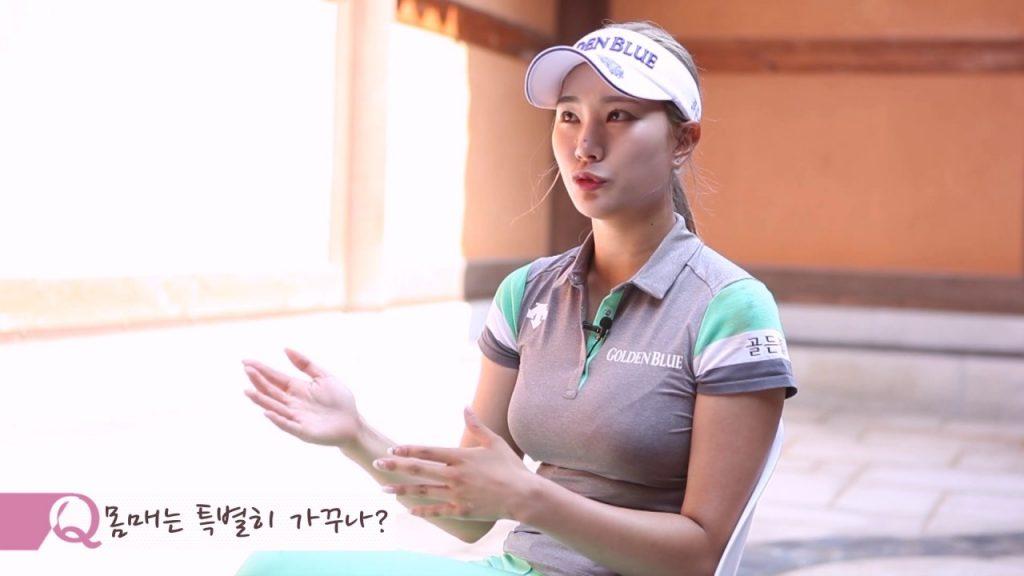 ユ・ヒョンジュ(ゴルフ)の画像。韓国の美人セクシーゴルファー