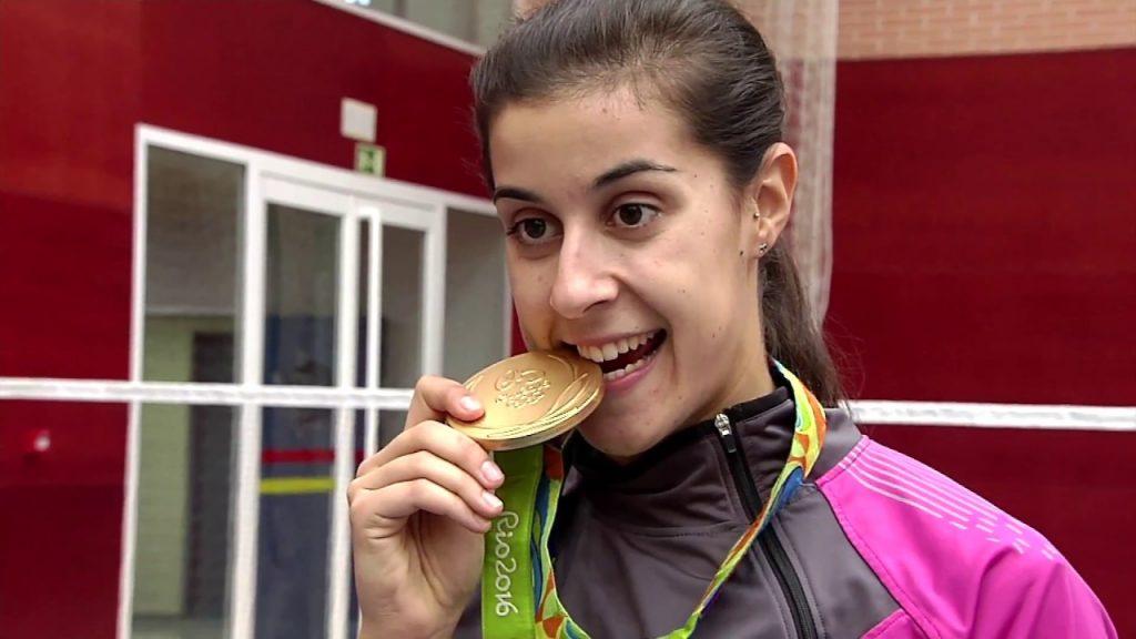 カロリーナ・マリンの画像。バドミントン、スペインのオリンピック金メダリスト