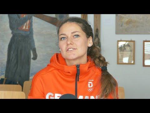 カリーナ・フォークトのインスタ画像。ドイツのスキージャンプ選手