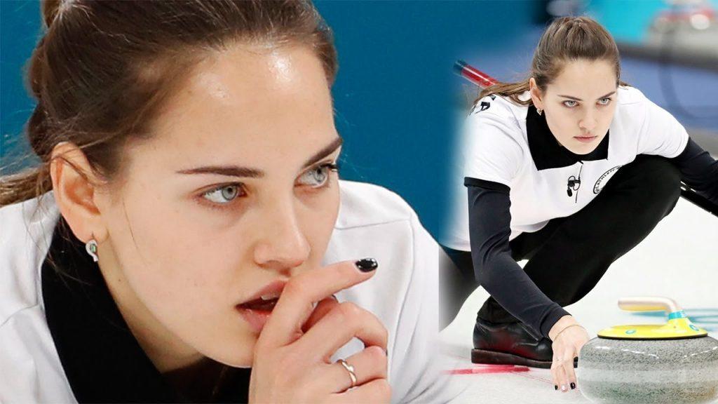 アナスタシア・ブリズガロワの画像。ロシアの美人カーリング選手