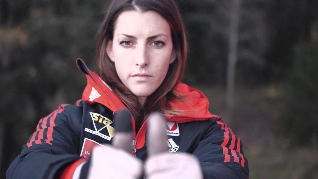 ジャニン・フロックの画像。オーストリアのスケルトン美人選手