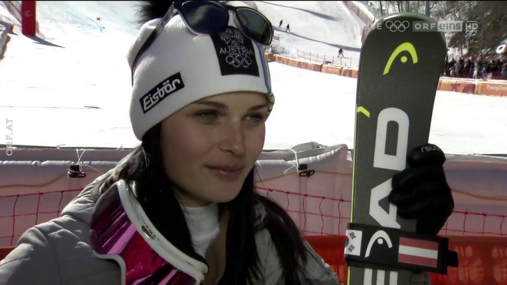 アナ・ファイトのインスタ画像。オーストリアの美人アルペンスキー選手