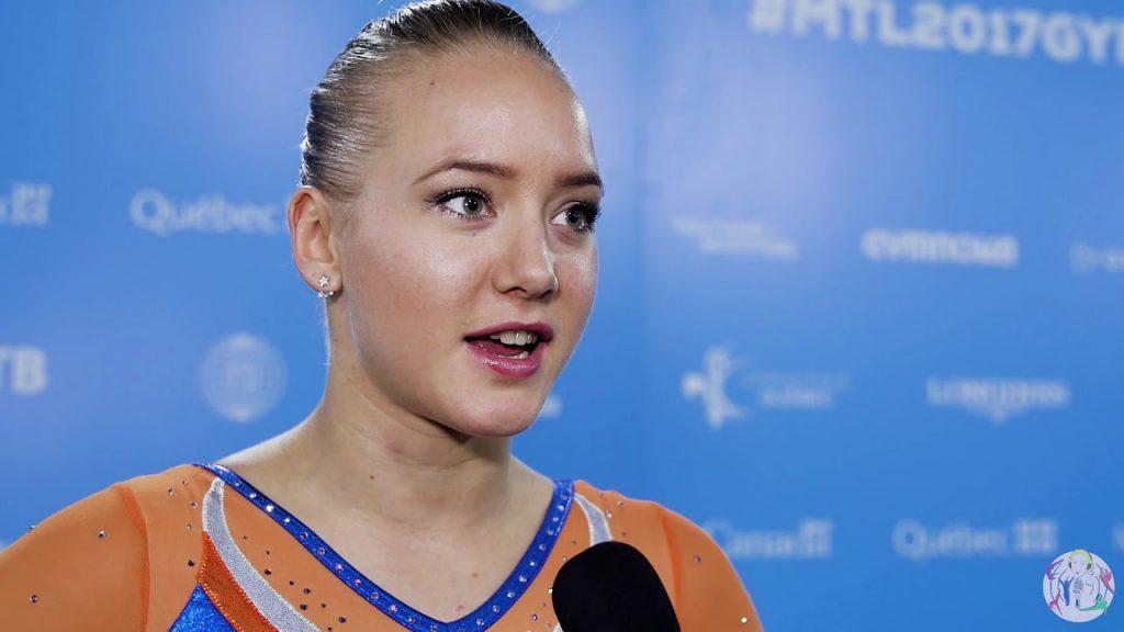 リーケ・ウェイファースの画像がかわいい。オランダの美人体操選手