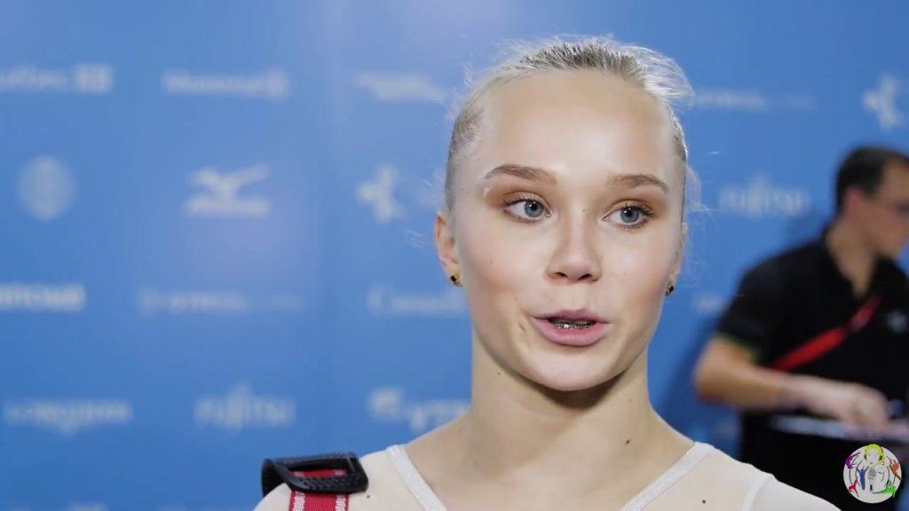 アンジェリーナ・メルニコヴァの画像。ロシアのかわいい体操選手