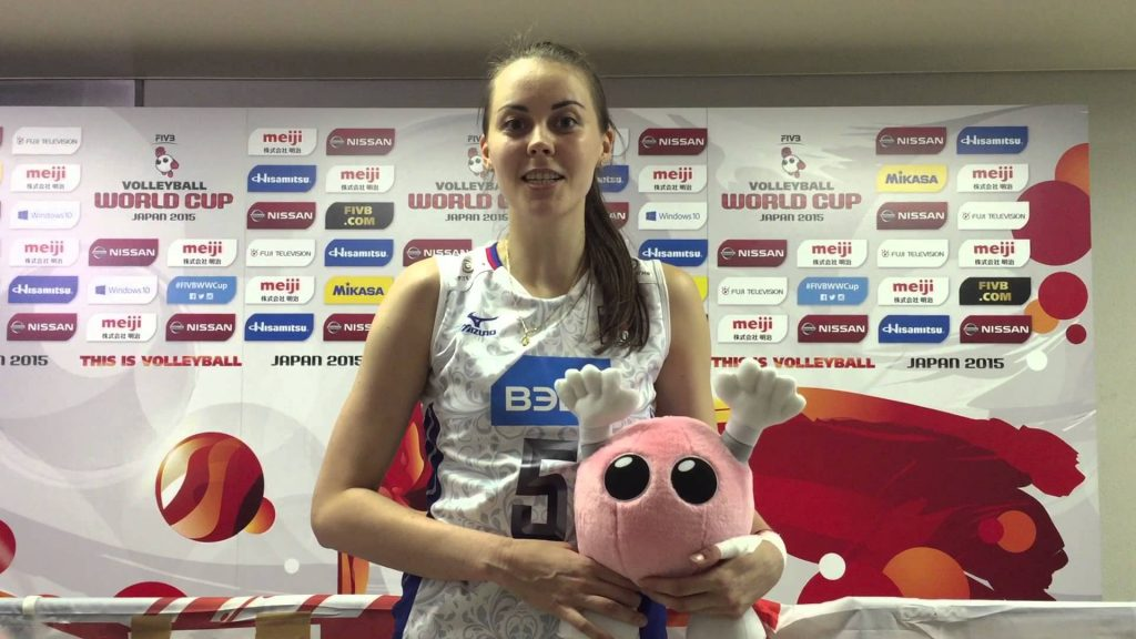アレクサンドラ・パシンコワの画像まとめ。ロシアの美人バレーボール選手
