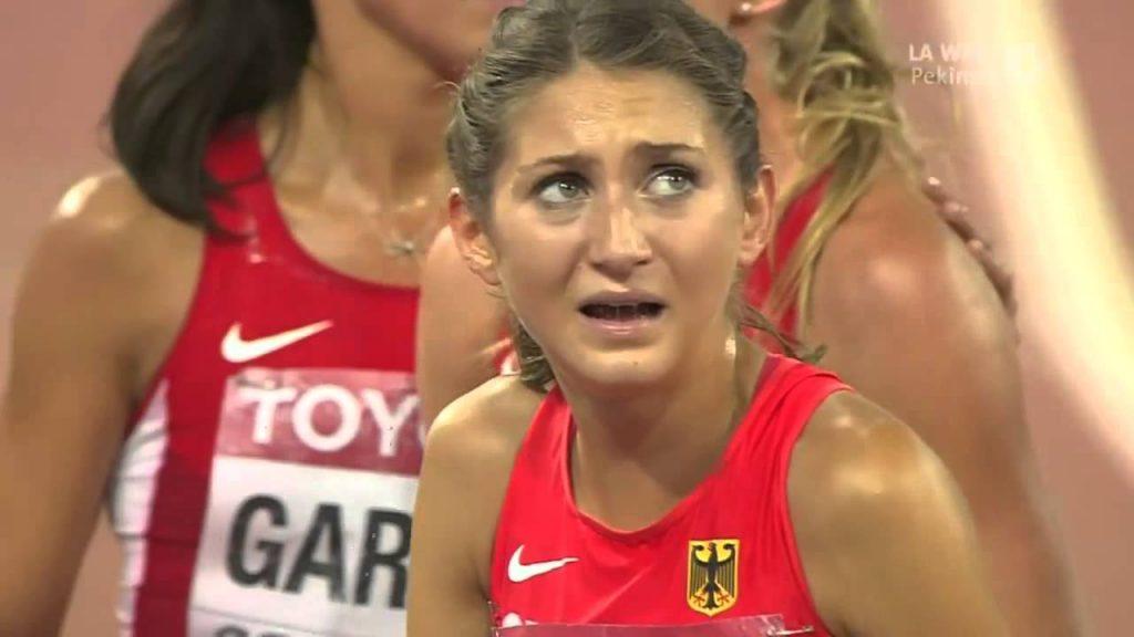 ゲサ・フェリシタス・クラウスの画像。ドイツの美人3000m障害選手
