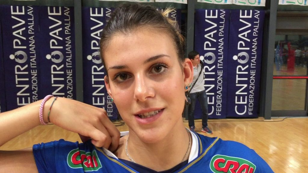アレッシア・オッロの画像がかわいい。イタリアの美人バレー選手