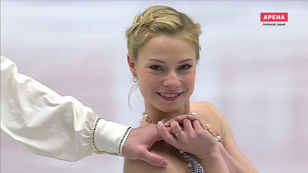 エフゲーニヤ・タラソワの画像。ロシアのフィギュアスケートペア選手