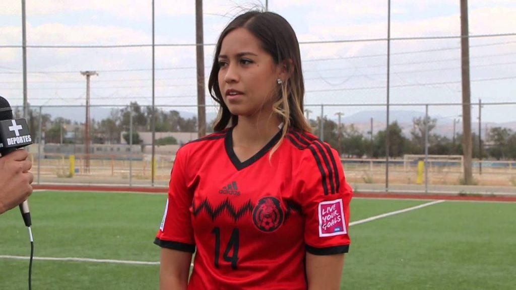 グレタ・エスピノーザの画像がかわいい。メキシコの美人サッカー選手
