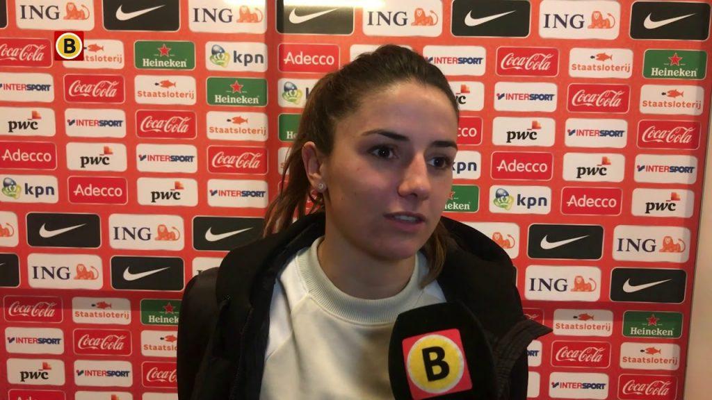 ダニエレ・ファン・デ・ドンクの画像。オランダの美人サッカー選手