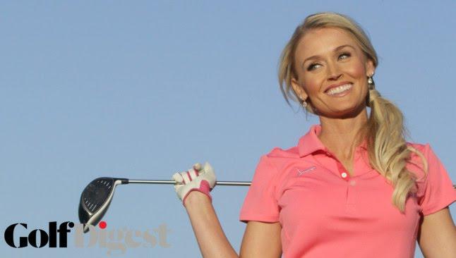 ブレア・オニールのインスタ画像。モデルもやっている美女ゴルファー