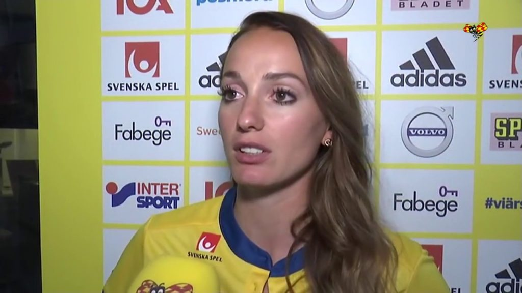 コソヴァレ・アスラニの画像。スウェーデンの美人サッカー選手