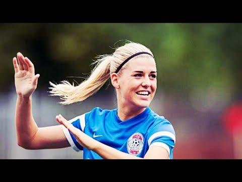 オリヴィア・ヒョウグの画像。スウェーデンの美人サッカー選手