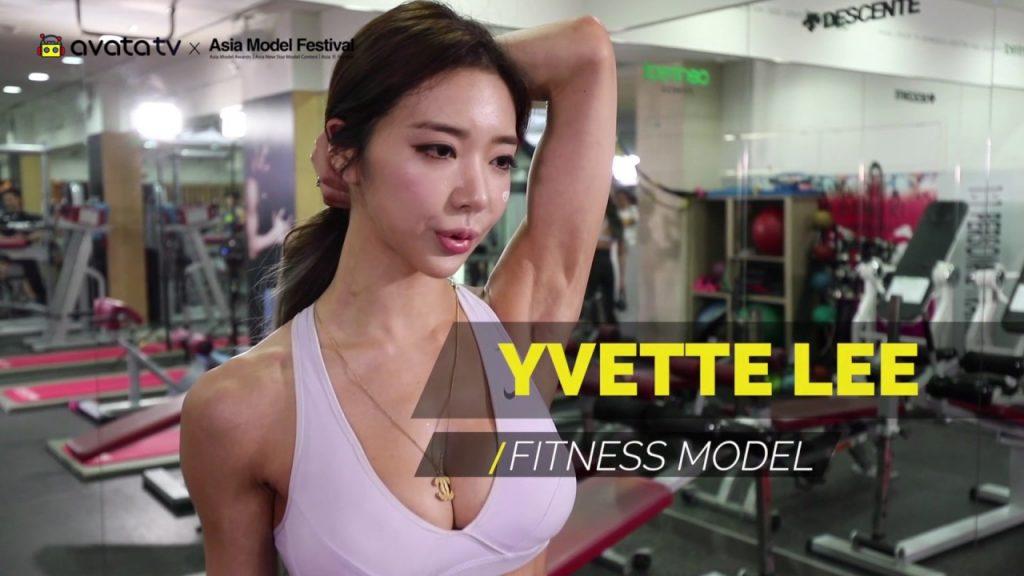イ・ヨンファのインスタ画像がかわいい。韓国の筋肉美女として話題