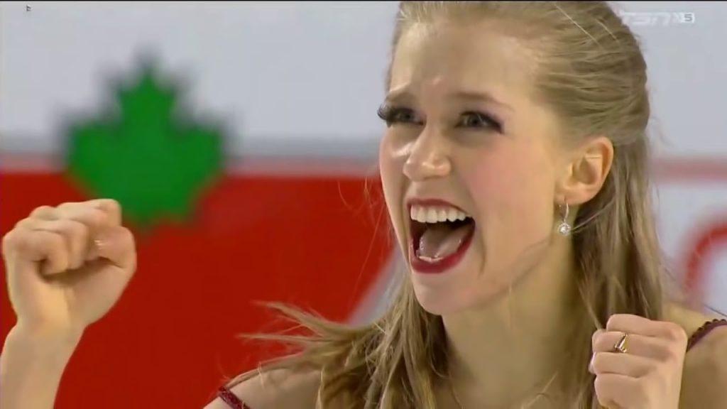 ケイトリン・ウィーバーの画像。カナダの美人フィギュアスケーター