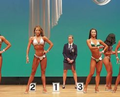 38652 246x200 - 福島麻里のインスタ画像。フィットネスビキニの美人選手。筋肉が凄い