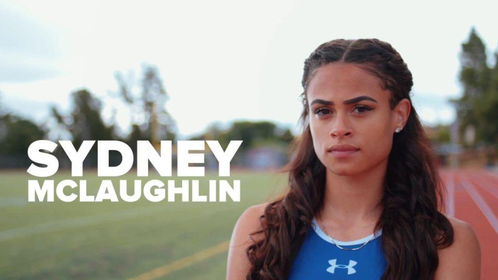 シドニー・マクラフリンの画像。アメリカの400mハードル選手