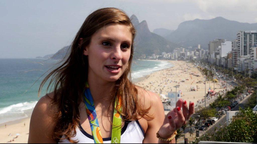 ケイティ・マイリの画像。競泳平泳ぎのアメリカ美女アスリート