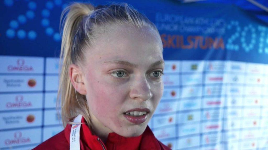 アンナ・エミリー・ムラの画像。デンマークの陸上3000m障害選手