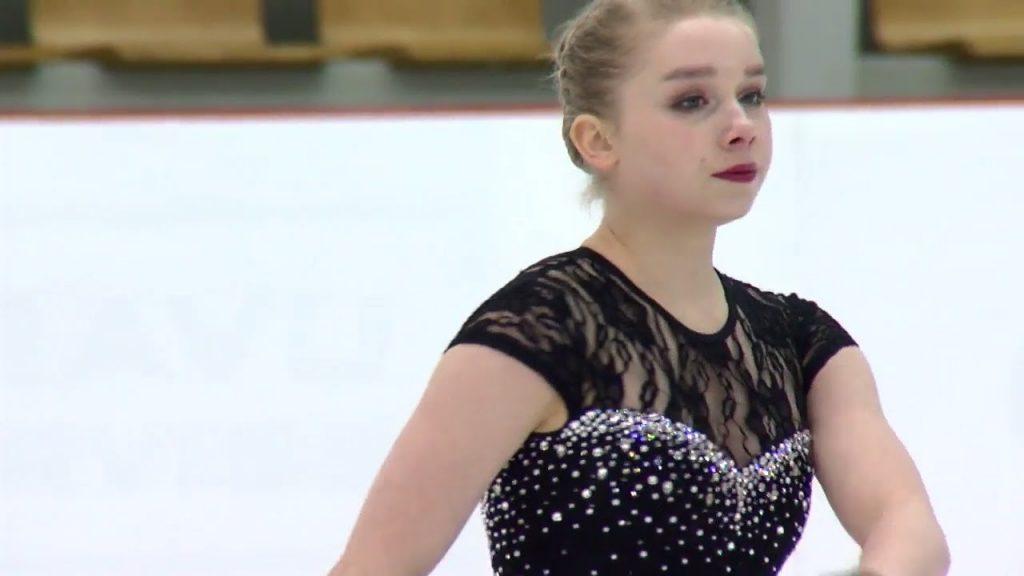 ヴィヴェカ・リンドフォースの画像。フィンランドの美人スケーター