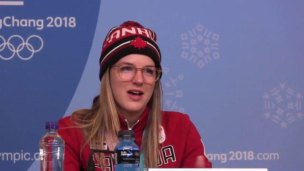 キャシー・シャープのインスタ画像がかわいい。カナダの五輪メダリスト