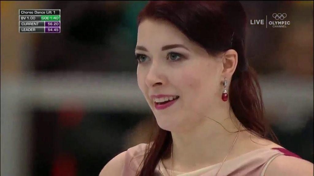 エカテリーナ・ボブロワのインスタ画像。ロシアの美人アイスダンス選手