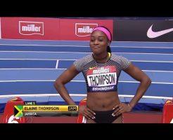 10 246x200 - エレイン・トンプソンのインスタ画像。リオ五輪100、200女王