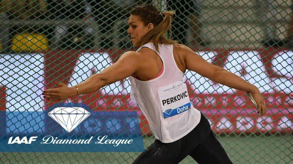 サンドラ・ペルコビッチ(円盤投)の画像。美人投擲選手。インスタまとめ