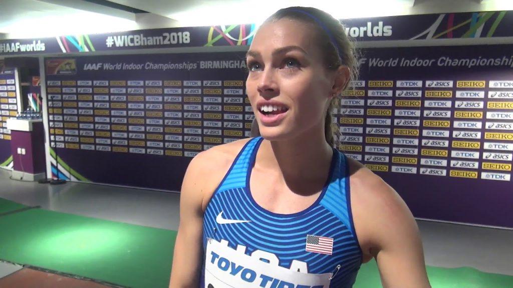 コリーン・クイグリーの画像。3000m障害アメリカの美人ランナー