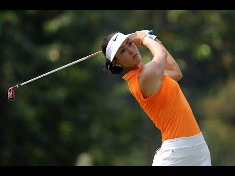 ミシェル・ウィーの画像。長身美人ゴルファー。韓国系でお父さんの写真も