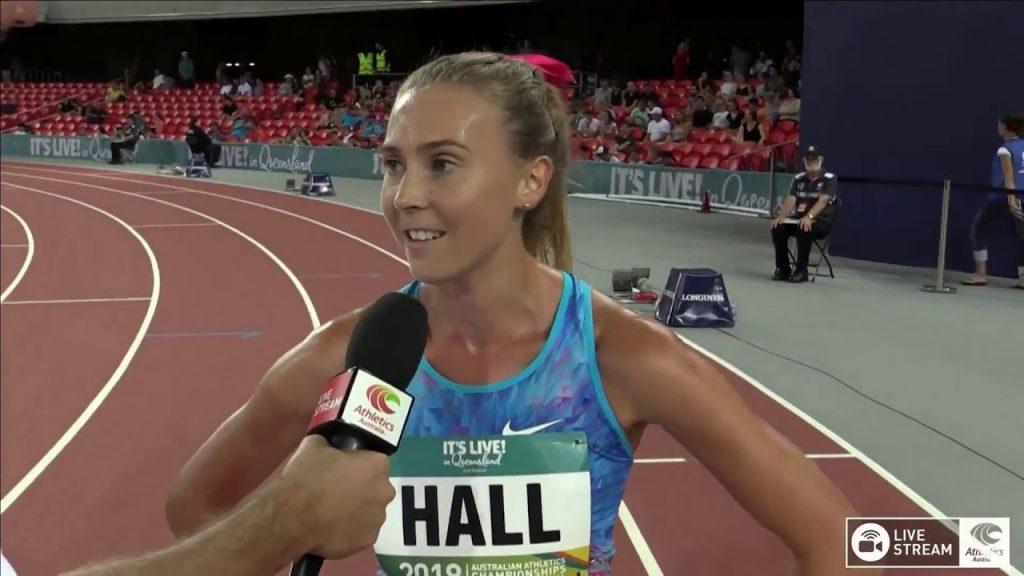 リンデン・ホール(陸上)の画像。オーストラリアの美人ランナー