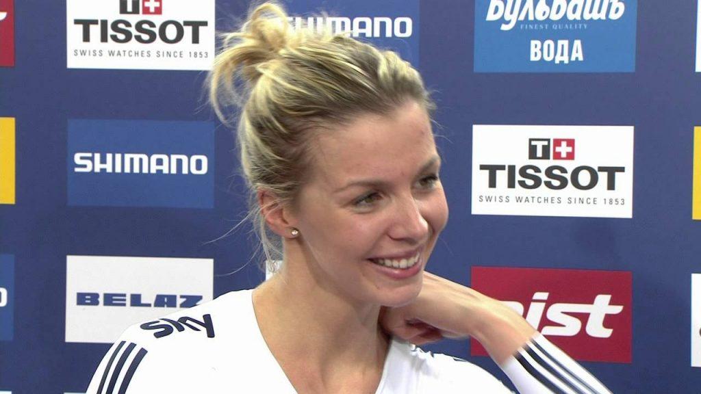 レベッカ(ベッキー)・ジェームズの画像。ウェールズの美人ケイリン選手