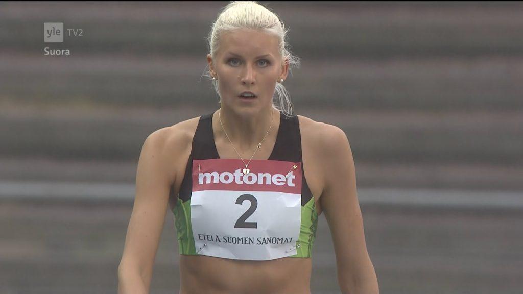 クリスティーナ・マケラの画像。フィンランドの美人三段跳選手