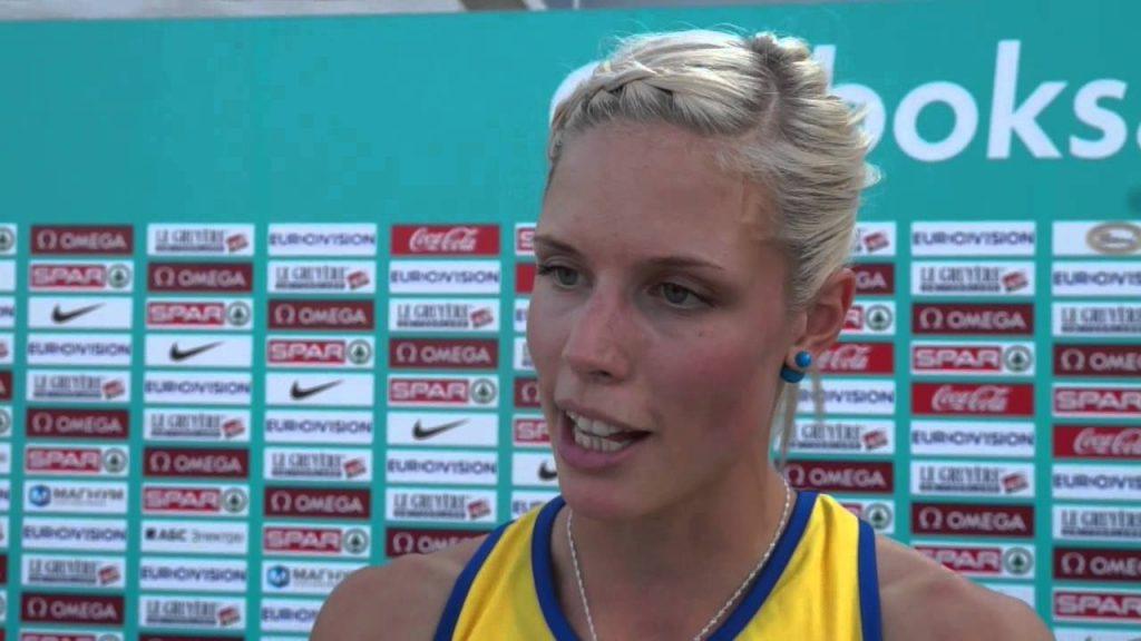 エリカ・キンゼイの画像まとめ。スウェーデンの美人走高跳選手