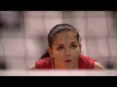 ナタリア・マリフのインスタ画像。ロシアの美人バレーボール選手