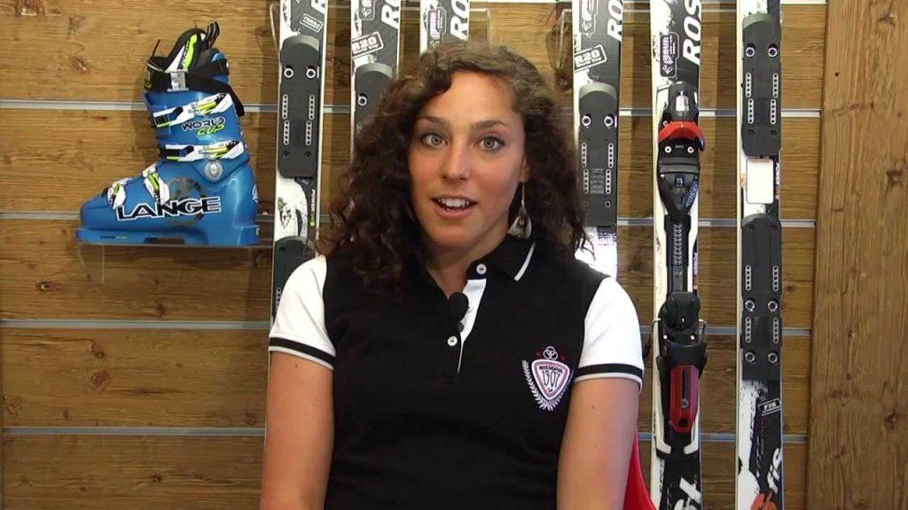 フェデリカ・ブリニョーネの画像。イタリアのアルペンスキー選手