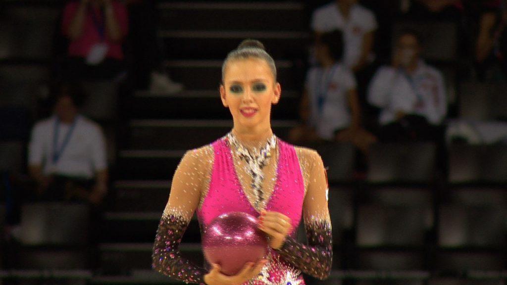 ダリア・ドミトリエワの画像がかわいい。ロシアの美人新体操選手