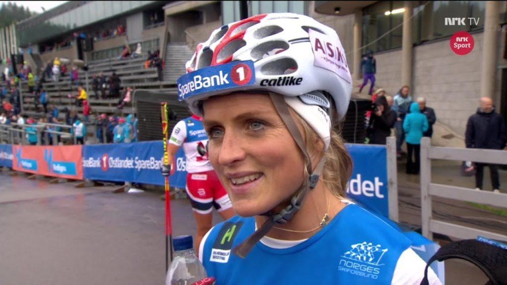 テレーセ・ヨーハウグの画像。ノルウェーのクロスカントリースキー選手