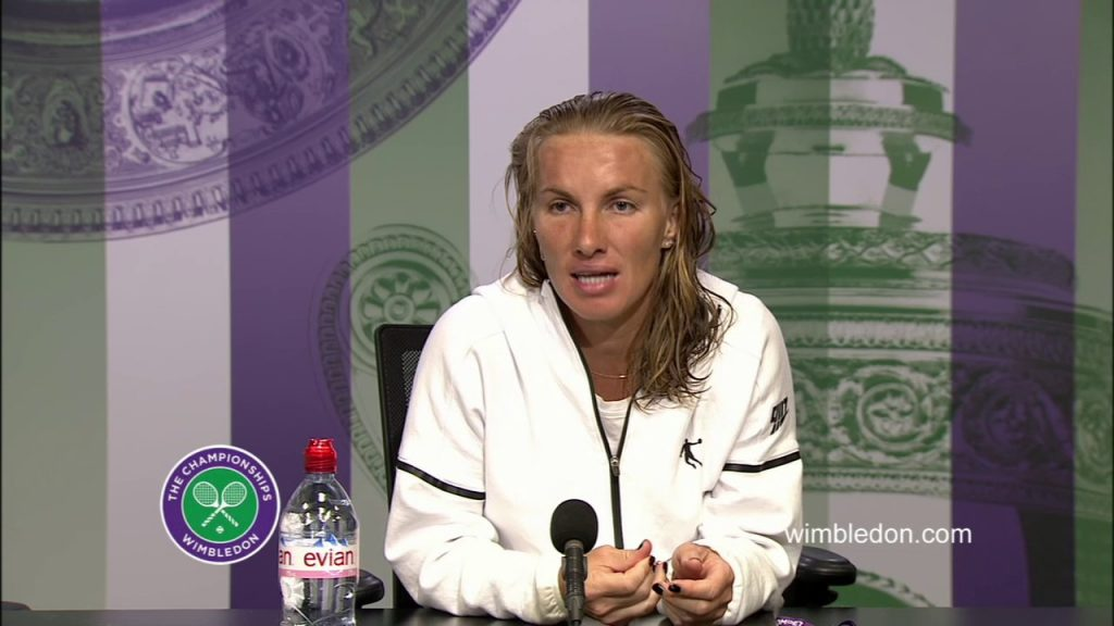 スベトラーナ・クズネツォワのインスタ画像。ロシアの美人テニスプレーヤー