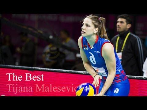 ティヤナ・マレセビッチの画像。バレーセルビア代表の美人選手