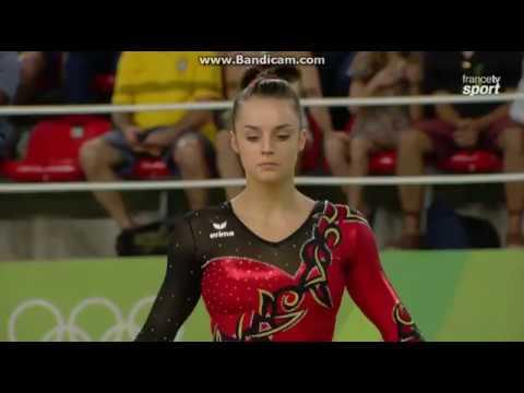 ポーリーヌ・シェーファーの画像まとめ。ドイツの美人体操選手