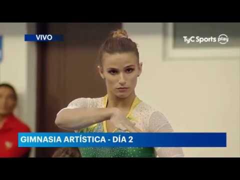 ジャジ・バルボサ(体操)の画像。ブラジルの美女アスリート。筋肉も凄い!